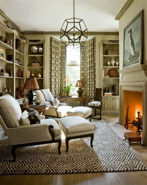 Attractive Winter Living Room Decoration Ideas For Warmth In The House 37