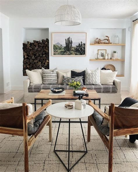 Attractive Winter Living Room Decoration Ideas For Warmth In The House 41