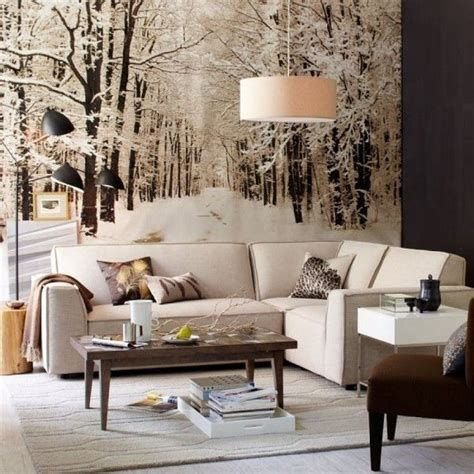 Attractive Winter Living Room Decoration Ideas For Warmth In The House 45