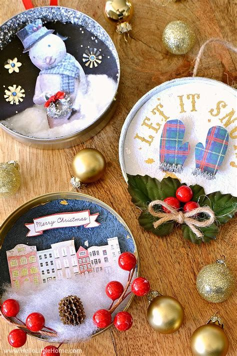 Beautiful Homemade Christmas Decorations And Ideas 20