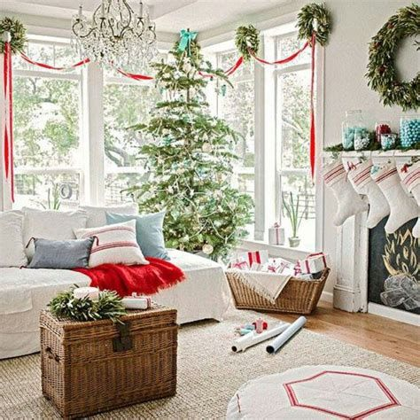 Best Christmas Living Room Decoration Ideas For Your Home 01