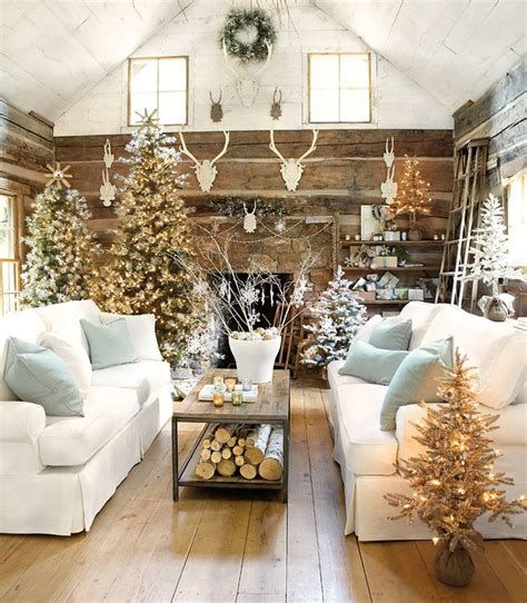 Best Christmas Living Room Decoration Ideas For Your Home 34