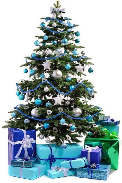 Blue And Silver Christmas Tree Decor Ideas 09