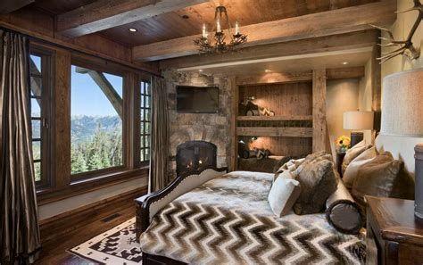 Cozy Rustic Bedroom Interior Designs For This Winter 03