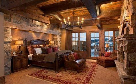 Cozy Rustic Bedroom Interior Designs For This Winter 05