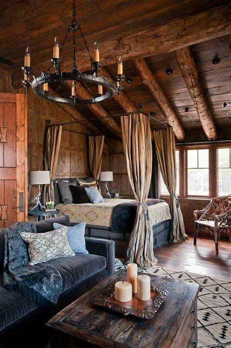Cozy Rustic Bedroom Interior Designs For This Winter 07