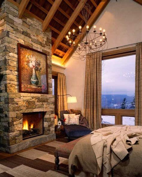 Cozy Rustic Bedroom Interior Designs For This Winter 23