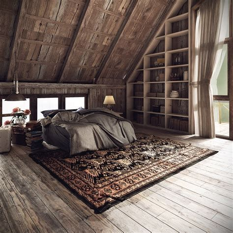 Cozy Rustic Bedroom Interior Designs For This Winter 30