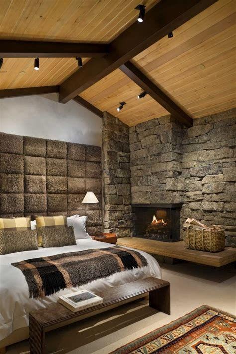 Cozy Rustic Bedroom Interior Designs For This Winter 32