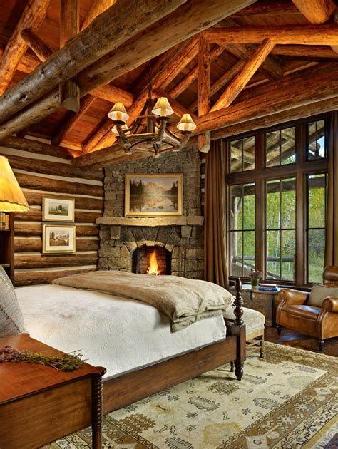 Cozy Rustic Bedroom Interior Designs For This Winter 34
