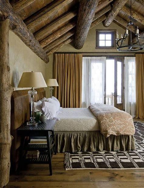 Cozy Rustic Bedroom Interior Designs For This Winter 45