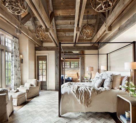 Cozy Rustic Bedroom Interior Designs For This Winter 46