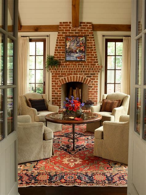 Living Room Design Ideas With Fireplace 36