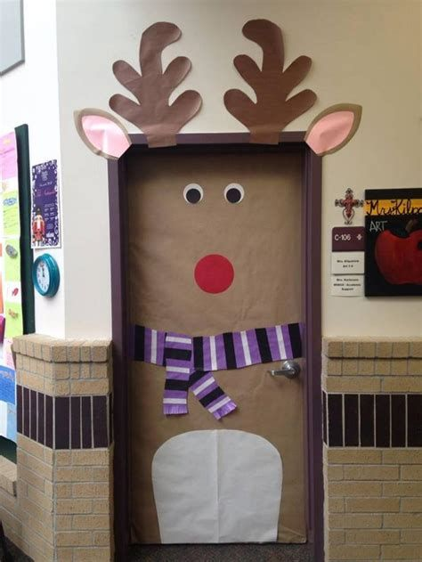 Most Popular Door Christmas Decor Ideas For Inspirations 11