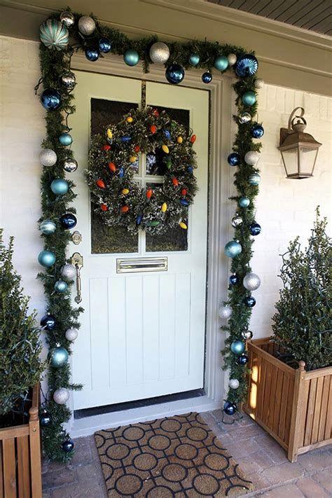 Most Popular Door Christmas Decor Ideas For Inspirations 43
