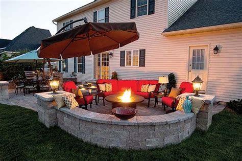 Perfect Fire Pit Design Ideas For Winter Season Decoration 07