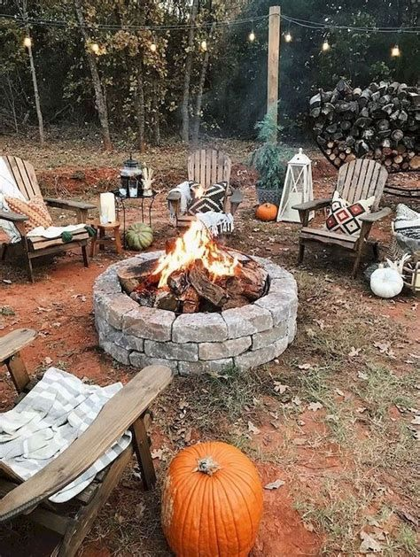 Perfect Fire Pit Design Ideas For Winter Season Decoration 27