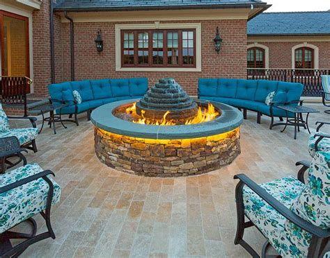 Perfect Fire Pit Design Ideas For Winter Season Decoration 29