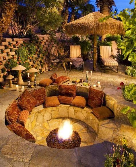 Perfect Fire Pit Design Ideas For Winter Season Decoration 35