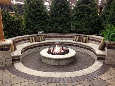 Perfect Fire Pit Design Ideas For Winter Season Decoration 42