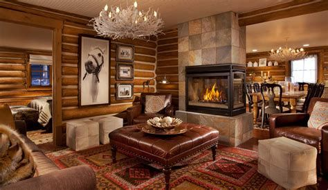 Warm Rustic Family Room Designs For The Winter 02