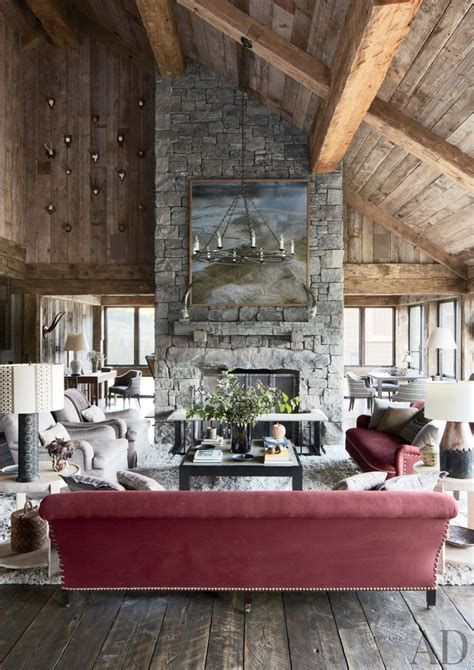Warm Rustic Family Room Designs For The Winter 07