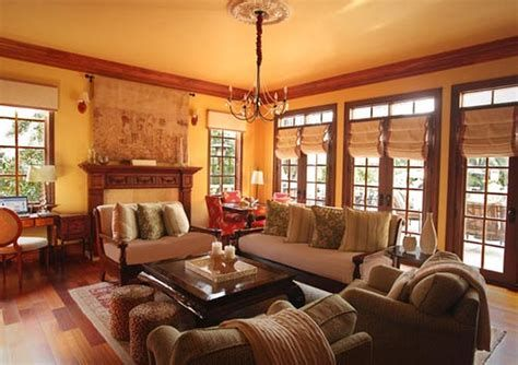 Warm Rustic Family Room Designs For The Winter 14
