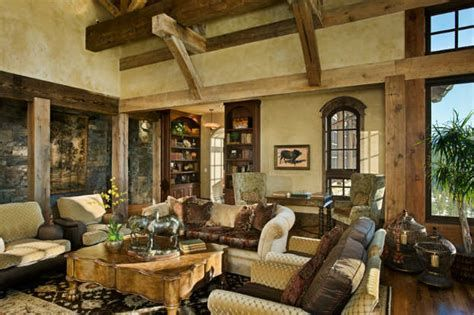 Warm Rustic Family Room Designs For The Winter 25