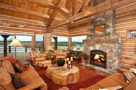 Warm Rustic Family Room Designs For The Winter 35
