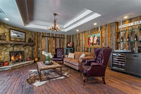 Warm Rustic Family Room Designs For The Winter 38