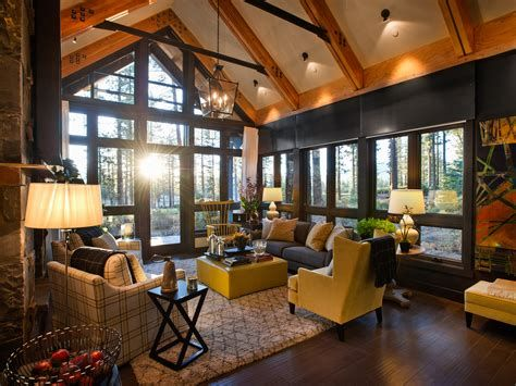 Warm Rustic Family Room Designs For The Winter 39