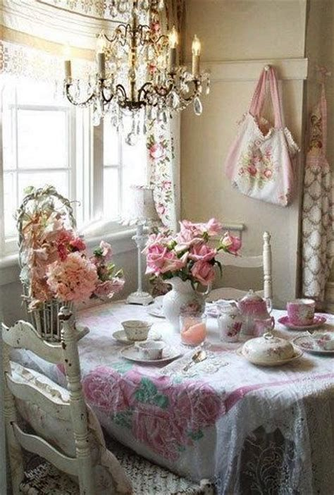Amazing Romantic Shabby Chic Decorating Style Ideas 08