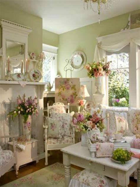 Amazing Romantic Shabby Chic Decorating Style Ideas 18