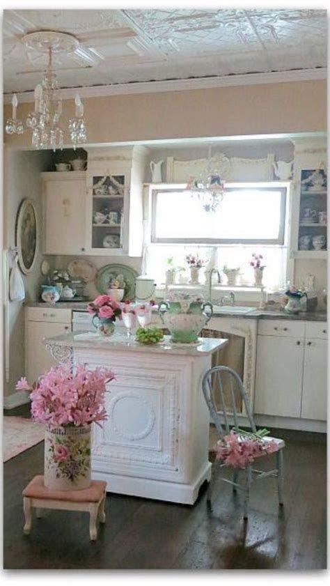 Amazing Romantic Shabby Chic Decorating Style Ideas 25