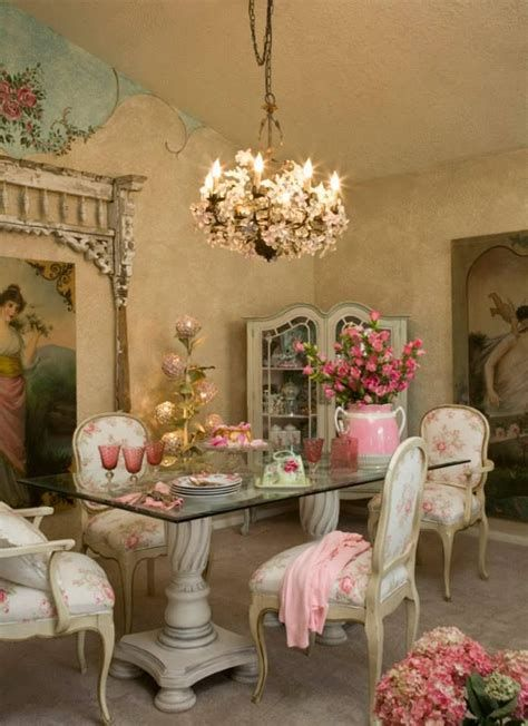 Amazing Romantic Shabby Chic Decorating Style Ideas 44