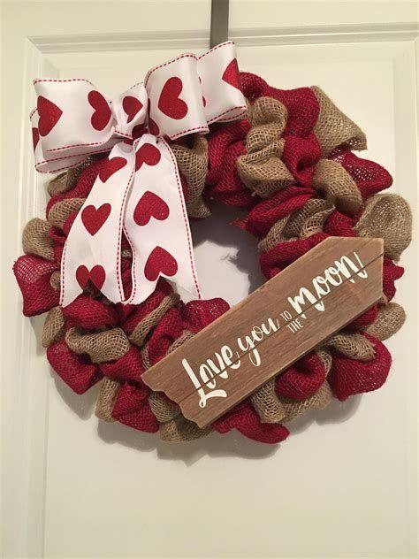 Awesome Burlap Valentine Decorations Ideas 11