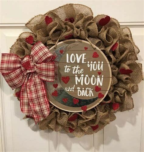 Awesome Burlap Valentine Decorations Ideas 14
