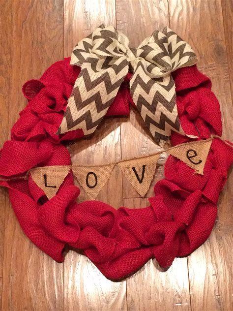 Awesome Burlap Valentine Decorations Ideas 16
