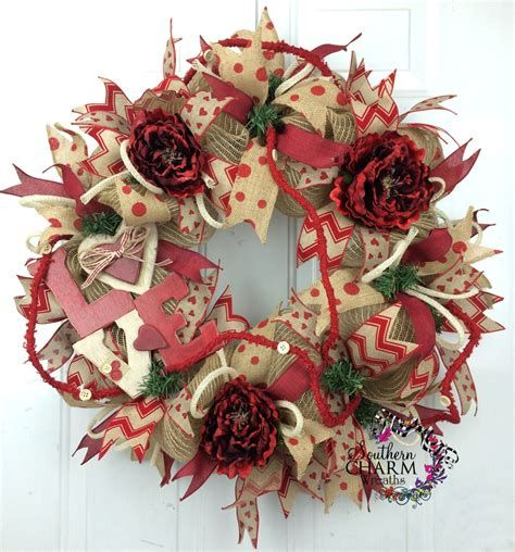 Awesome Burlap Valentine Decorations Ideas 29