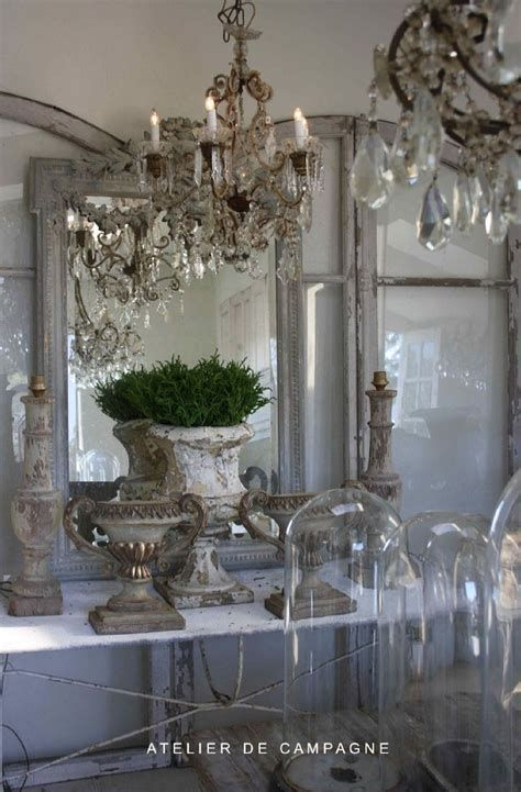 Awesome French Shabby Chic Interiors Ideas 01
