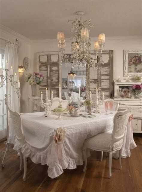 Awesome French Shabby Chic Interiors Ideas 38
