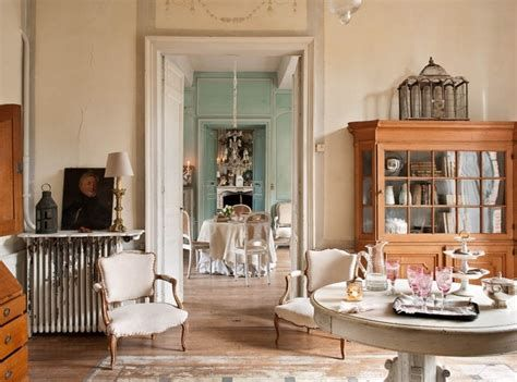 Awesome French Shabby Chic Interiors Ideas 42