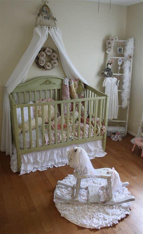 Beautiful Shabby Chic Baby Bedroom Ideas 35
