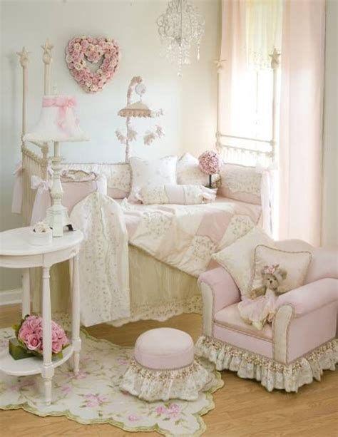Beautiful Shabby Chic Baby Bedroom Ideas 36