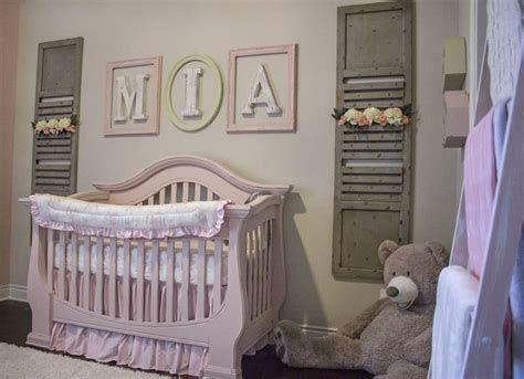 Beautiful Shabby Chic Baby Bedroom Ideas 40