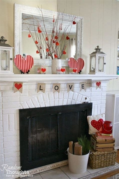 Classy Inexpensive Valentine Decorations Ideas 16