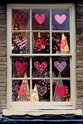 Comfy Lighted Valentine Window Decorations Ideas 08