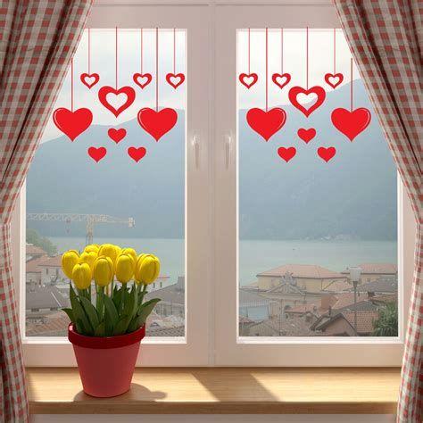 Comfy Lighted Valentine Window Decorations Ideas 25