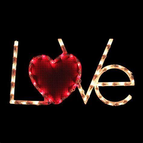 Comfy Lighted Valentine Window Decorations Ideas 47