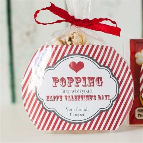 Cool Printable Valentine Bag Decorations Ideas 12